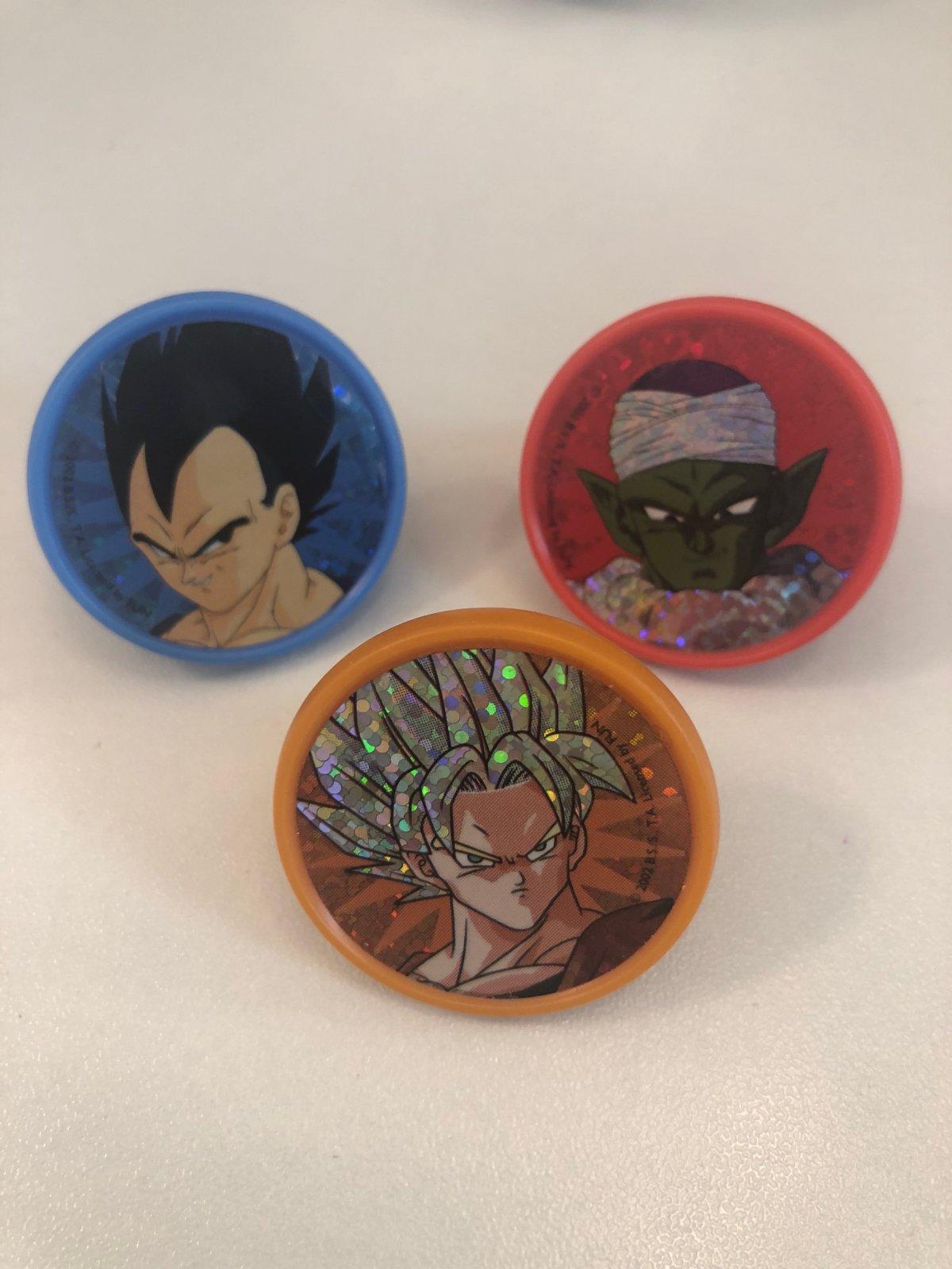 Dragon Ball Z Piccolo, Gohan & Vegeta 12 ct Cupcake Rings