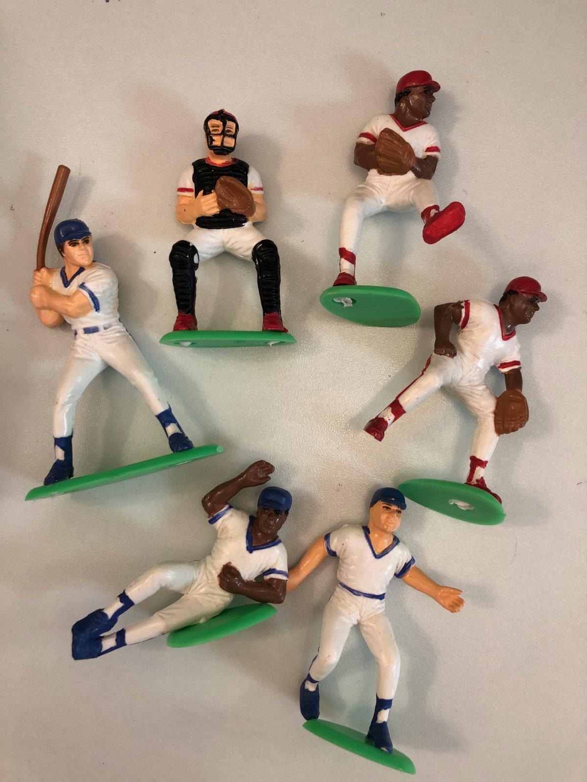 Baseball Players 6 pc