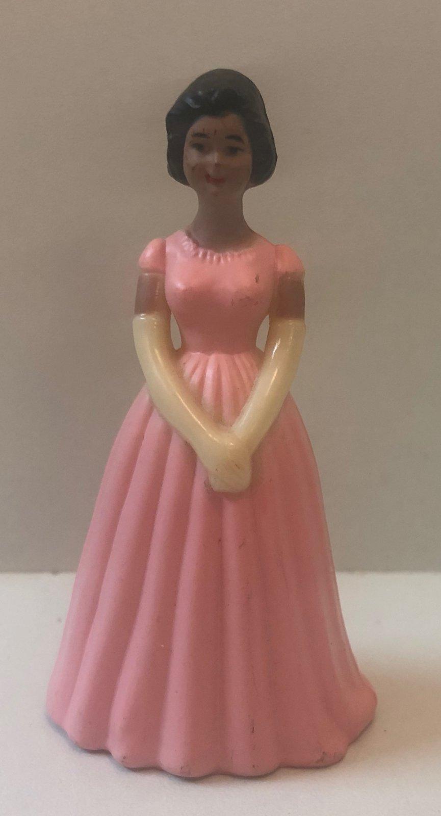 Pink Ethnic Bridesmaids 3 1/4 Tall