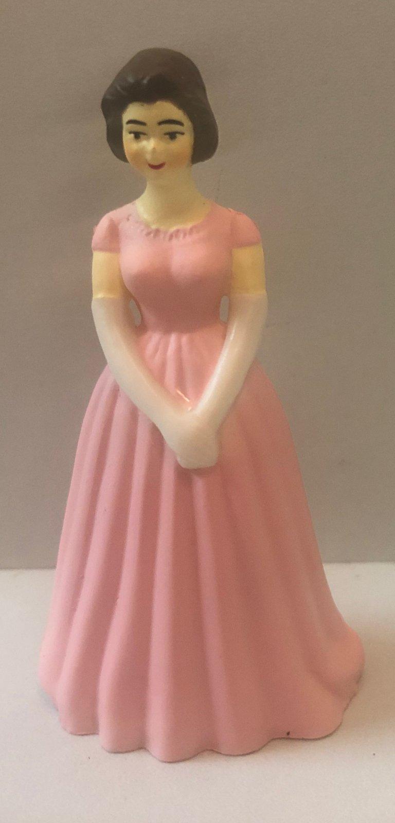 Pink  Bridesmaids 3 1/4 Tall