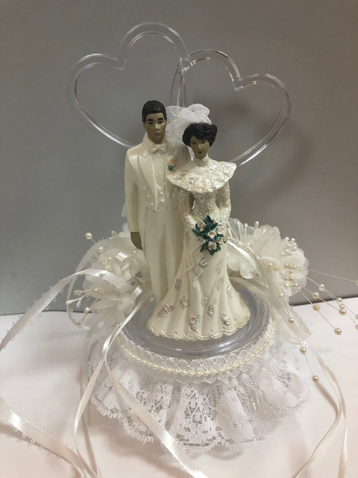 Expressions of Love Ethnic Bride & Groom Cake Topper