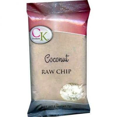 raw chip coconut