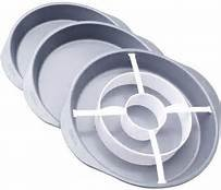Checkardboard cake pan