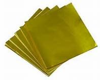 4X4 Gold Foil 125ct Wrapping Papers