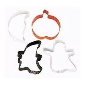 Halloween Cookie Cutter set 4pc