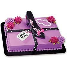 Black High Heel cake kit
