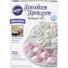 Marvelous Meringue Mix by Wilton