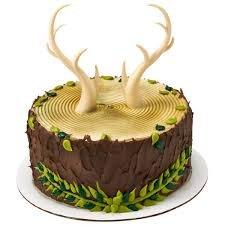 Antler Cake Topper