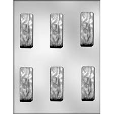 2-7/8 Candy Bar Chocolate Mold CK 90-5711