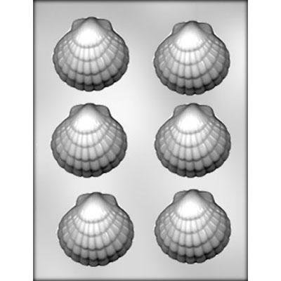 3 Clam Shell Chocolate Mold CK 90-12876