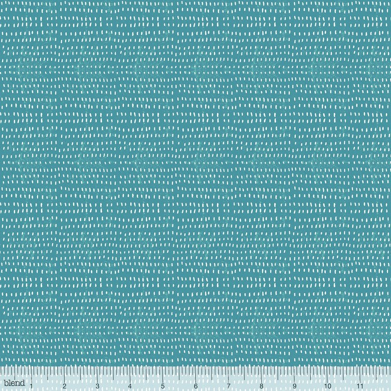 Seeds in Azure by Cori Dantini from Blend Fabrics