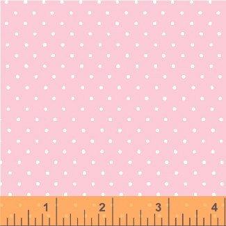 2 Yards 3 - Windham Fabric Dot Basic - Pink 29400-12