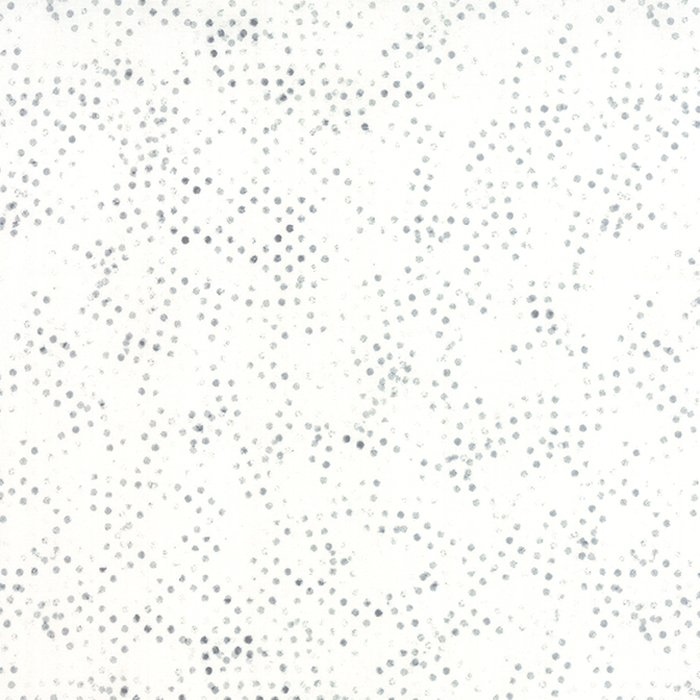 Modern Background Paper in Basic Stamped Dots Grey by  Zen Chic for Moda