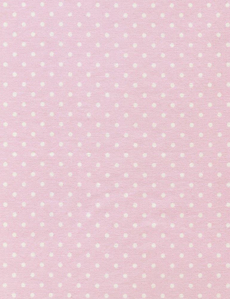 Timeless Treasures Polka Dot Basic - Blush