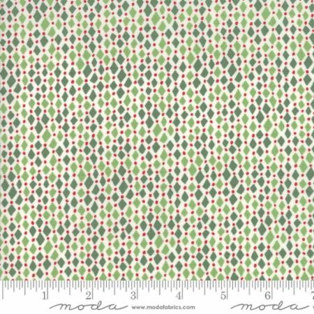 2 Yards - Merry Merry Spruce 27278-11 by Kate Spain for Moda Fabrics