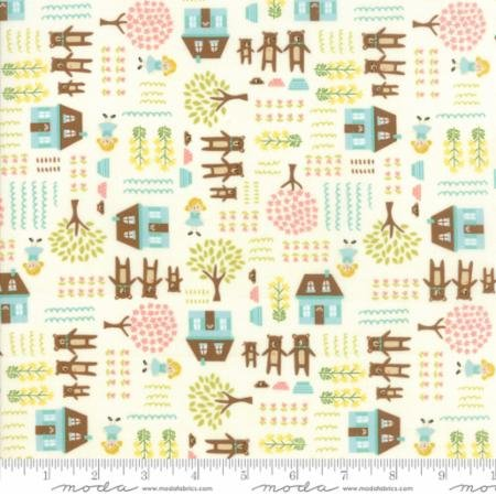 Home Sweet Home by Jill Howarth in Goldie and Three Bears Cream