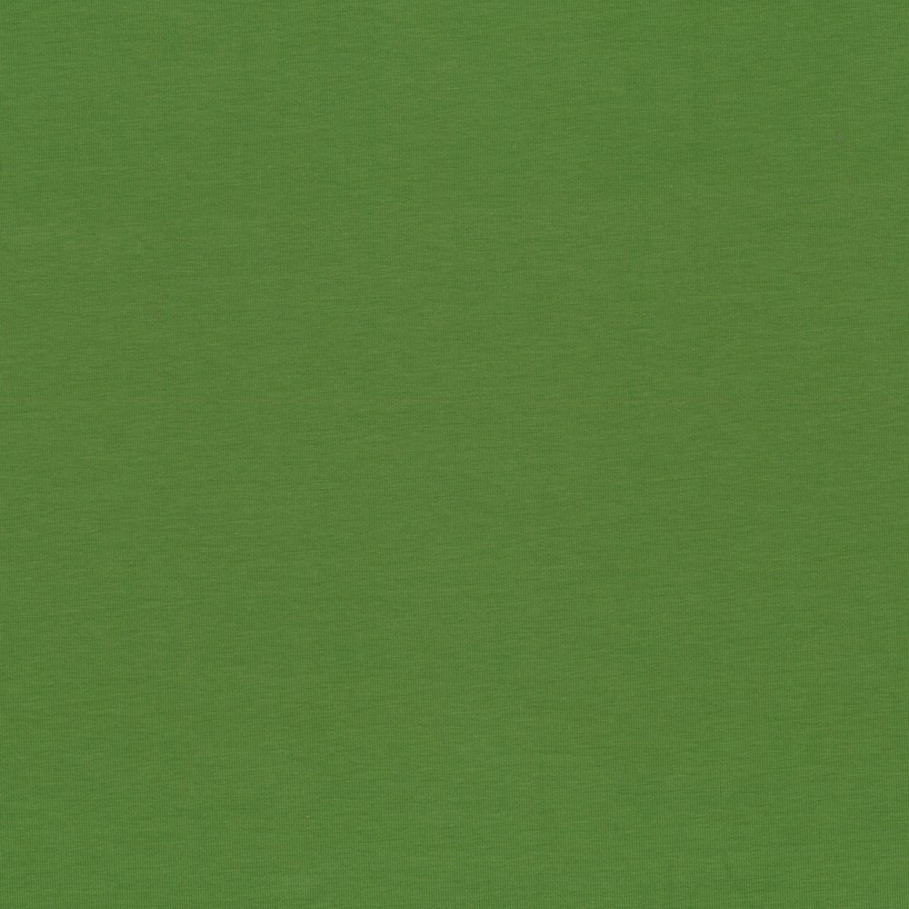 Solid Green - AVALANA Jersey by STOF Fabrics