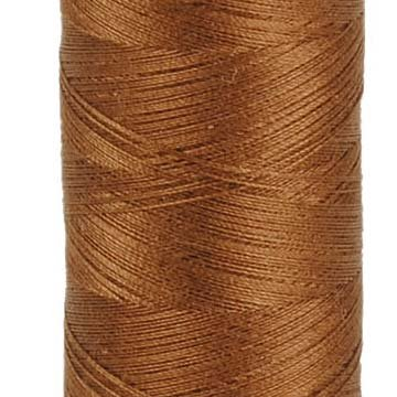 AURIFIL Cotton Thread Solid 50wt -  Dark Antique Gold (2372)