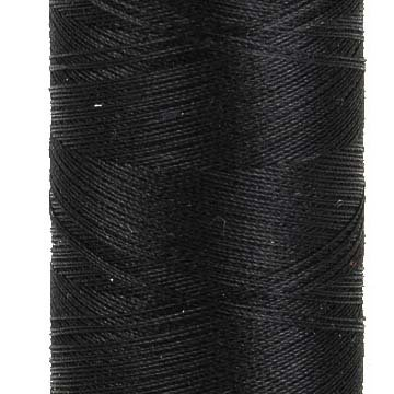 AURIFIL Cotton Thread Solid 50wt - Black (2692)
