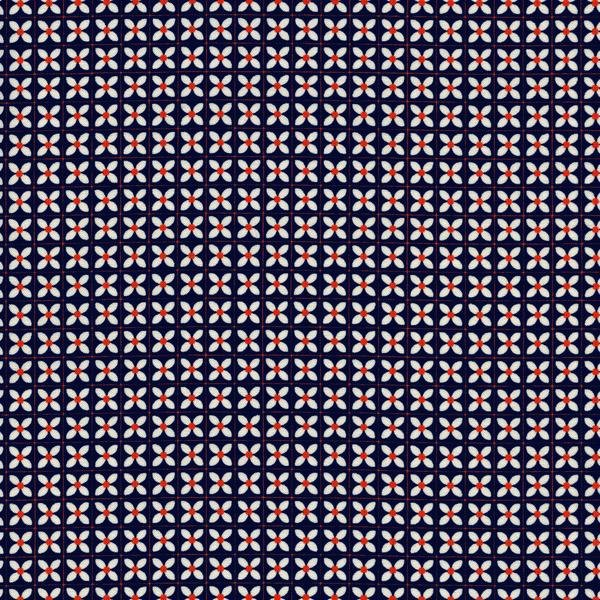 Yours Truly in Wee Flowers Navy by Kimberly Kight for Cotton and Steel