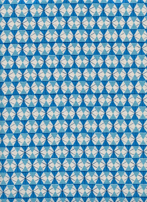 Chicken Wire Bright Blue from Welsummer by Kim Kight for Cotton + Steel