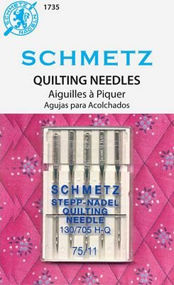 Schmetz Quilting Needles- 5pk size 75/11