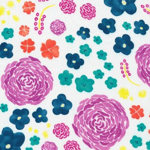 Bouquet Multi -  From Brush Strokes by Holly DeGroot for Cloud9 Fabrics