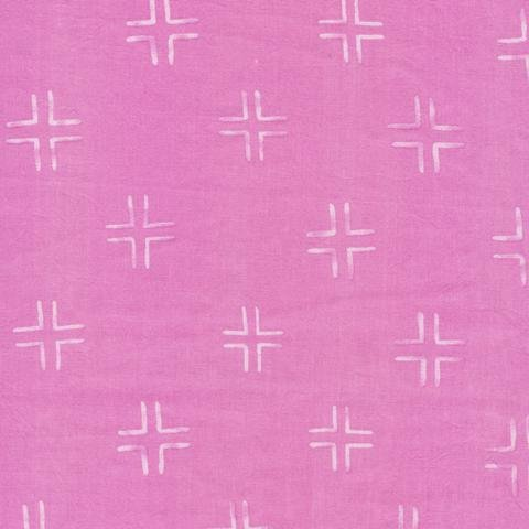 3 Yards 12 - Trellis - Purple -  From Brush Strokes by Holly DeGroot for Cloud9 Fabrics