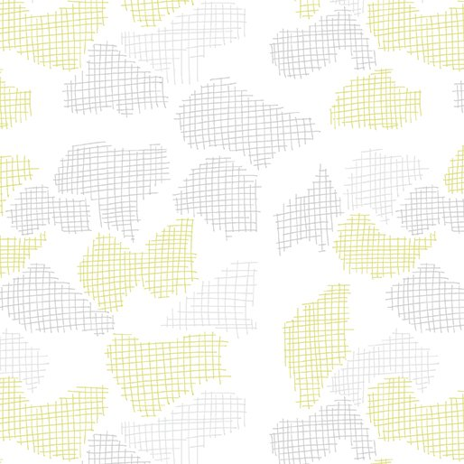 35 REMNANT - Improv in SCREEN WHITE/CITRON Amy Friend for Contempo