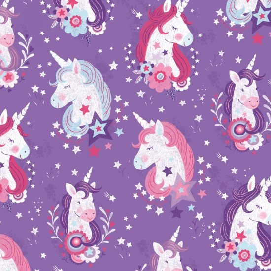 29 REMNANT - Unicorn Kisses from Studio E by Lucie Crovatto in Unicorn Heads