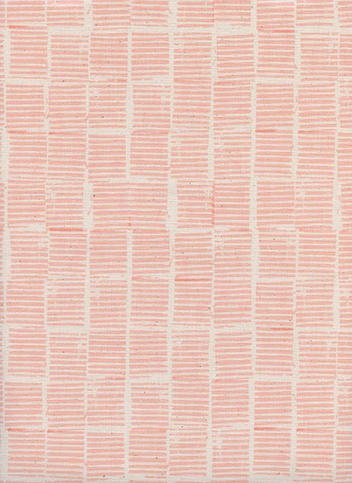 2 Yards 16 Hearth Peach from Sienna by Alexia Abegg for Cotton + Steel