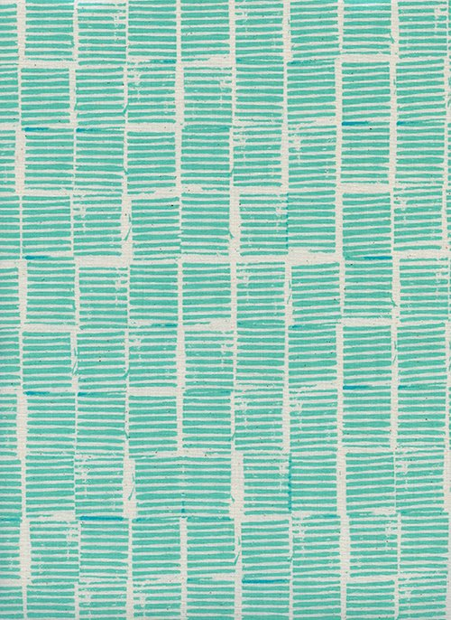 1 Yard 17 - Hearth Ocean from Sienna by Alexia Abegg for Cotton + Steel