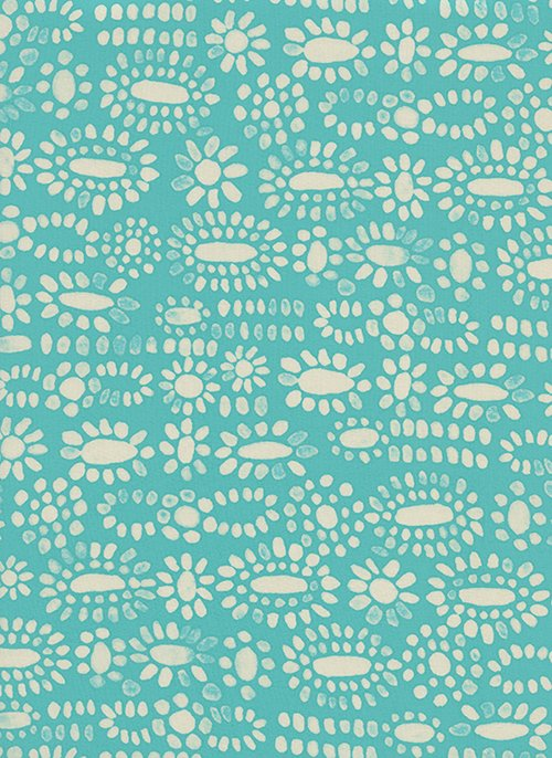 Moonstone Turquoise RAYON from Sienna by Alexia Abegg for Cotton + Steel