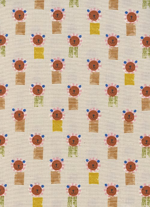 Lions Natural from Sunshine by Alexia Abegg for Cotton + Steel