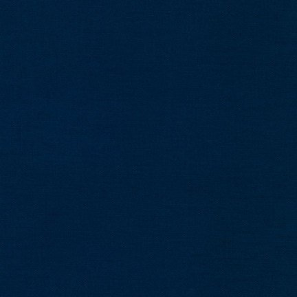 27 REMNANT  Kona Cotton Navy K001-1243 from Robert Kaufman