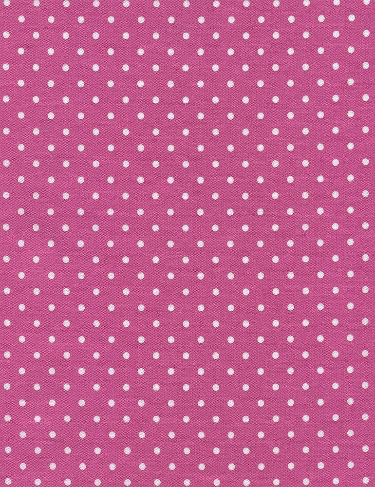 Timeless Treasures Polka Dot Basic - Pink