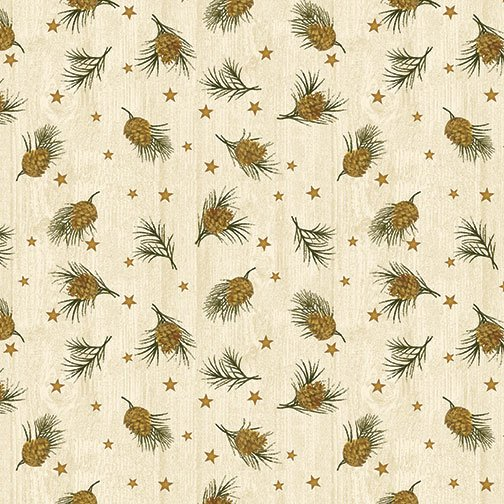 Pine and Stars Vanilla from Moose Lake from Cheryl Haynes for Contempo
