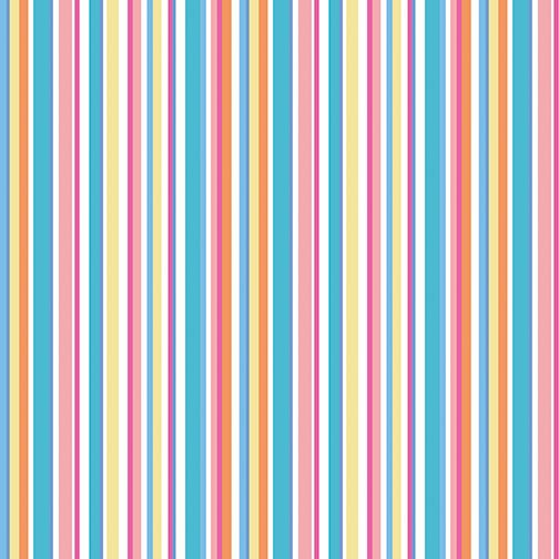 Summer Stripe Multi from Front Porch from Cherry Guidry for Contempo