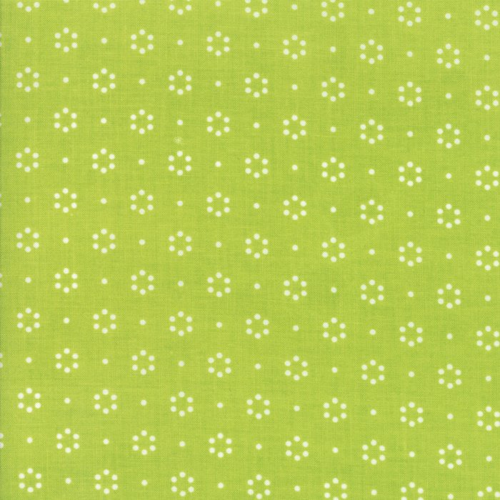 1 Yard 11 - Bonnie & Camille The Good Life (55152 in Green) from Moda