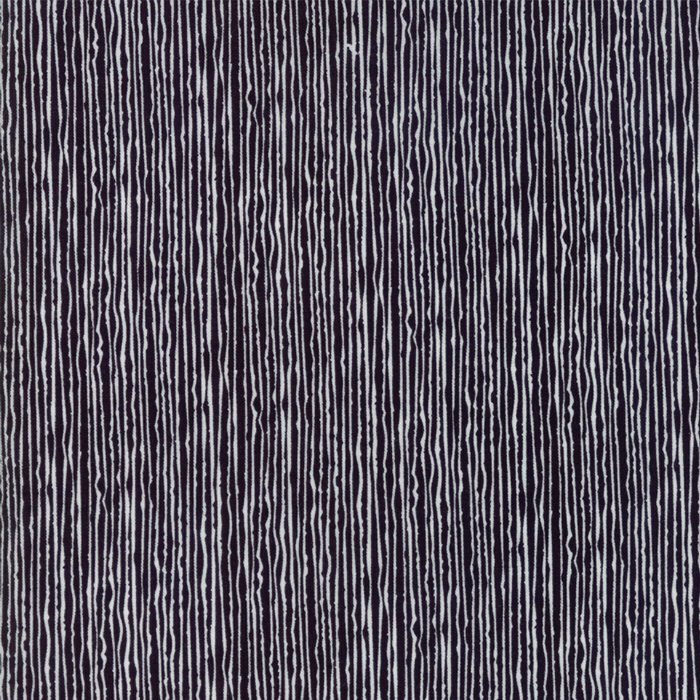 33 REMNANT  - Overnight Delivery in Stripes BLACK by Sweetwater for Moda
