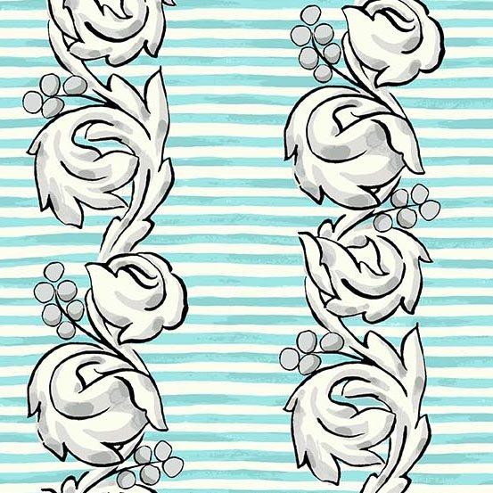Flourish in Scroll Tiffany by Molly Hatch from Andover Fabrics
