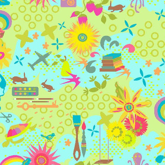 Remix in Favorites in Sunshine from Alison Glass for Andover Fabrics