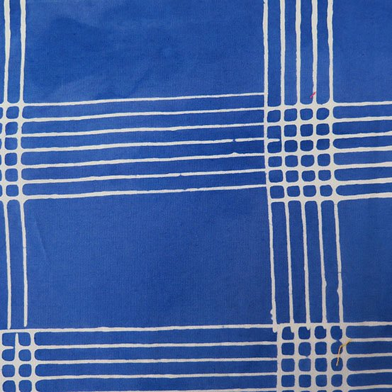 Cobalt Plaid from Chroma by Alison Glass for Andover Fabrics (AB-8132-B)