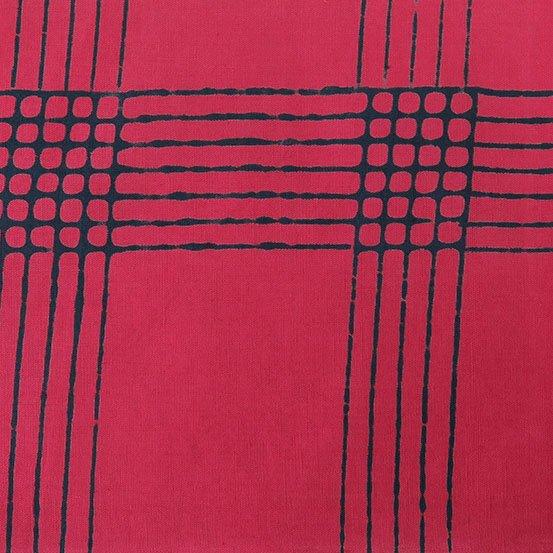 Cherry Plaid from Chroma by Alison Glass for Andover Fabrics (AB-8132-E2)