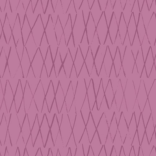 Toothpick in Orchid for By Hand by Amy Friend for Contempo