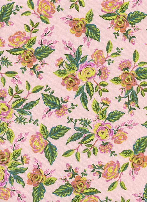 Jardin De Paris Peony from Menagerie by Anna Bond of Rifle Paper Co for Cotton + Steel