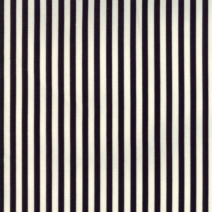 Essentially Yours in Essential Stripe Black by Moda Classic for Moda