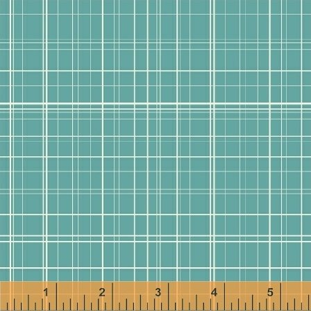 Fine Line Plaid in Aqua from Maribel by Annabel Wrigley