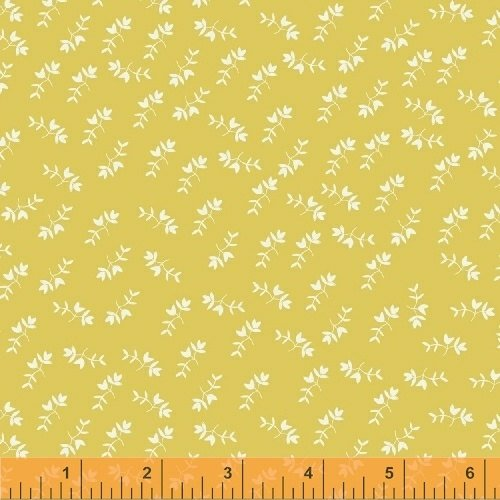 Mono Floral in Yellow from Maribel by Annabel Wrigley