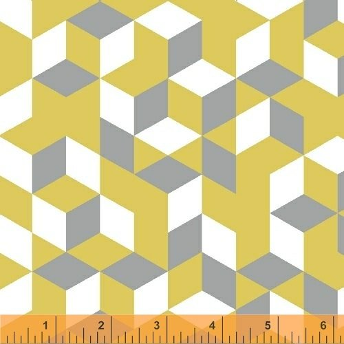 Cubes in Yellow from Maribel by Annabel Wrigley